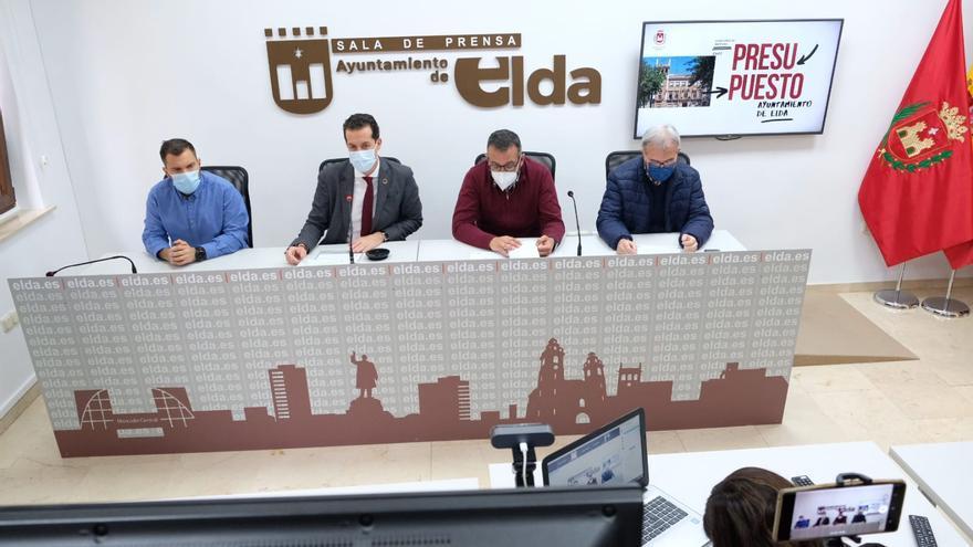 Alfaro presenta los presupuestos más sociales de la historia de Elda