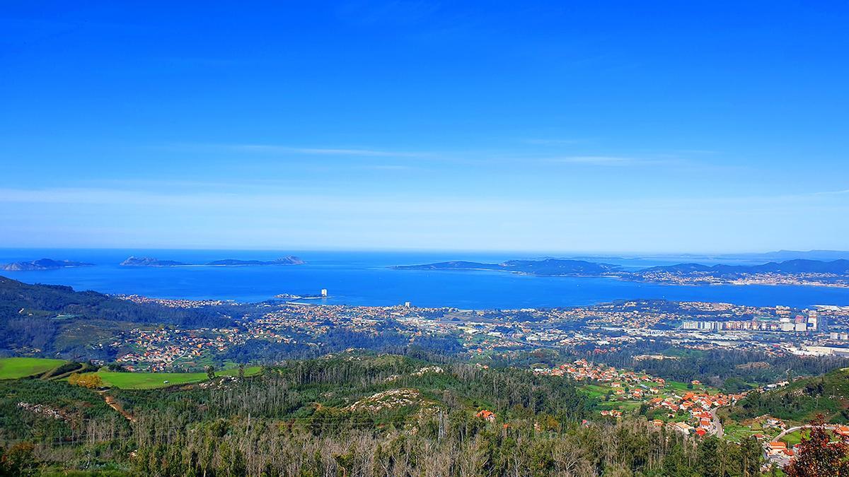 Cielos despejados en Vigo y temperaturas suaves este fin de semana