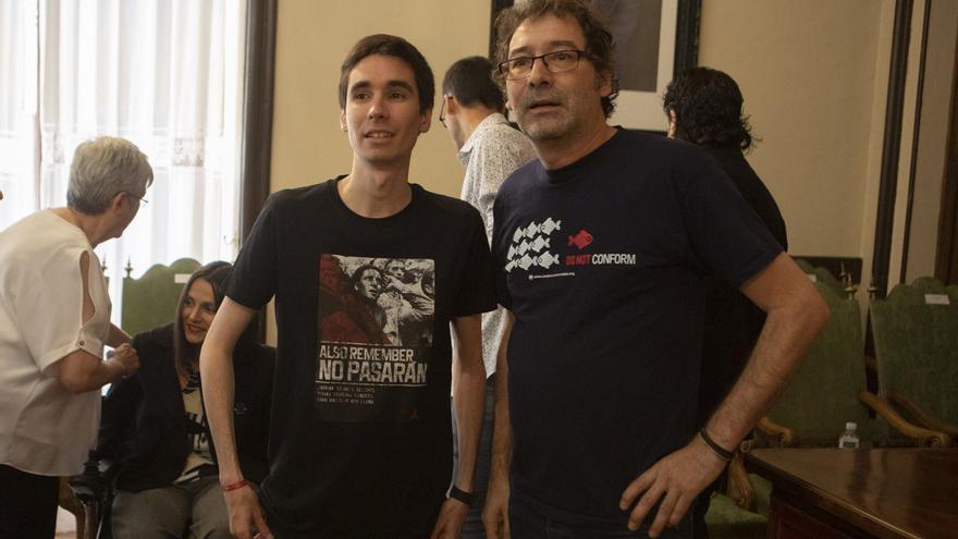 Los zamoranos Viñas y Sergio López estarán en la asamblea federal de Izquierda Unida