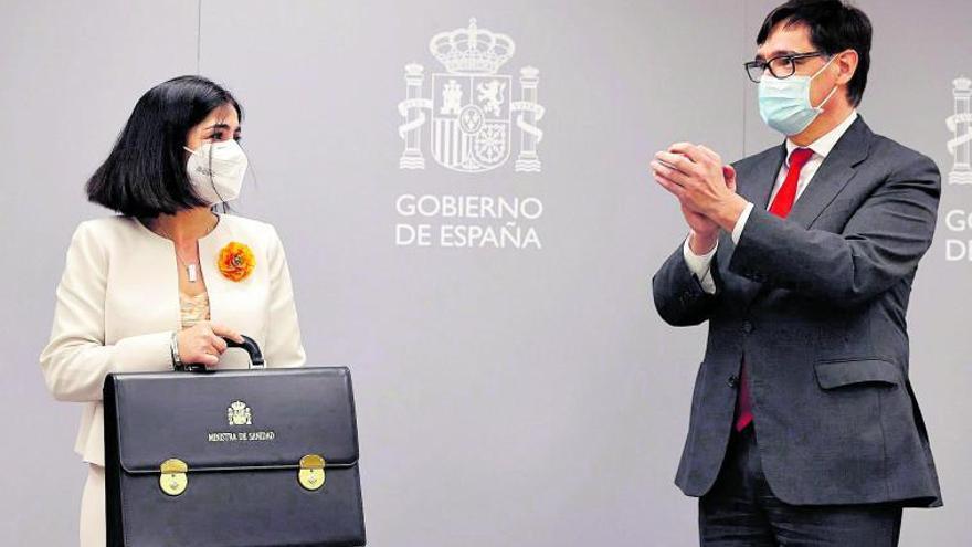 """Carolina Darias: """"Es un honor defender el buque insignia del Estado de Bienestar"""""""