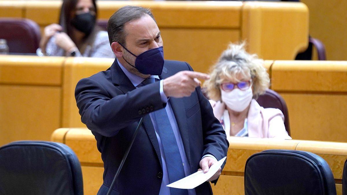 Sesión de control al Gobierno en el Senado , en la imagen Jose Luis Ábalos