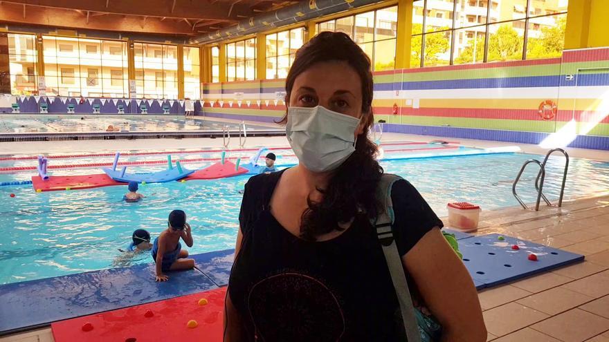 Carmen Dorado nos relata la evolución de sus hijos en natación