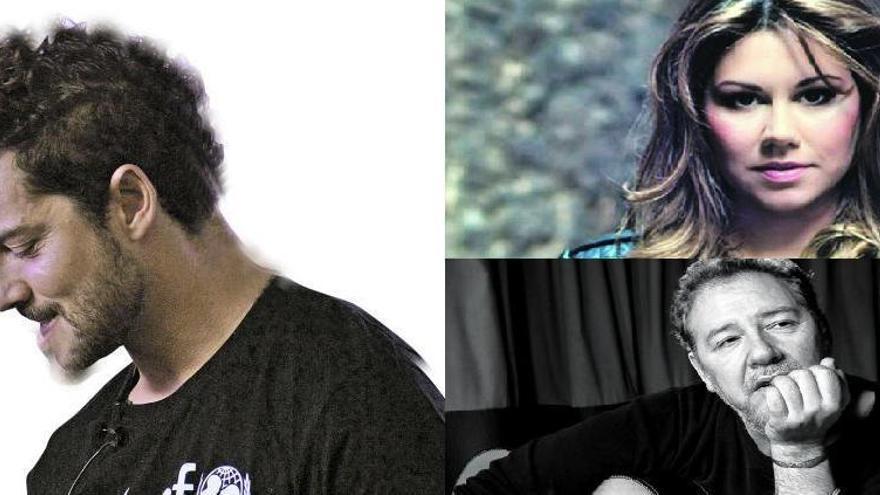 """""""Revólver"""", Tamara  y David Bisbal, más nombres para los conciertos musicales de Begoña"""