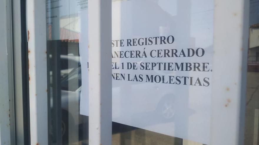 """Malestar por el cierre del """"registro"""" de la Junta en Bermillo de Sayago"""