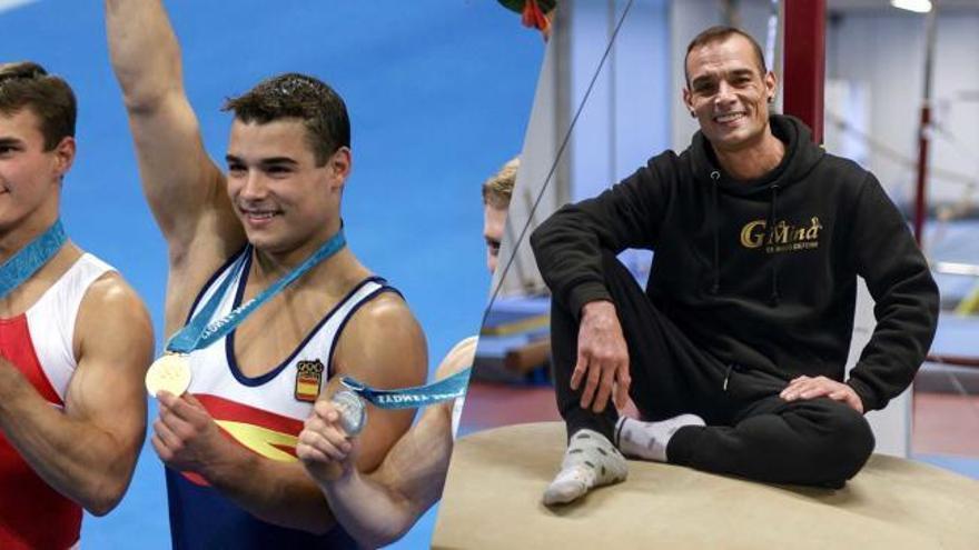 El bicampeón olímpico Gervasio Deferr nos enseña su gimnasio en el barrio de La Mina