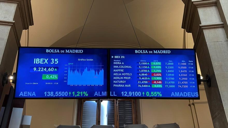 El Ibex 35 cierra con una caída del 0,8% por el lastre de las eléctricas
