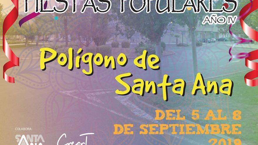 El Polígono Santa Ana celebrará sus fiestas entre el 5 y el 8 de septiembre