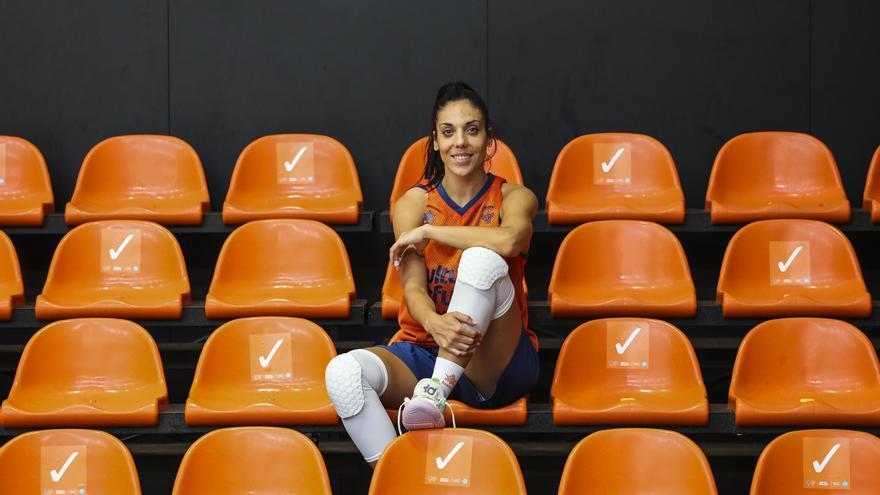 """Cristina Ouviña: """"El techo del Valencia Basket es competir por lo máximo"""""""