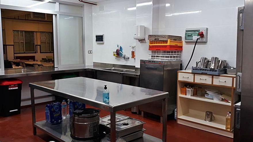 Importaco y Beniparrell financian la nueva cocina del CEIP Blasco Ibañez