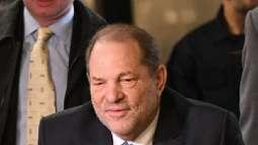 Harvey Weinstein, al hospital con palpitaciones tras ser condenado