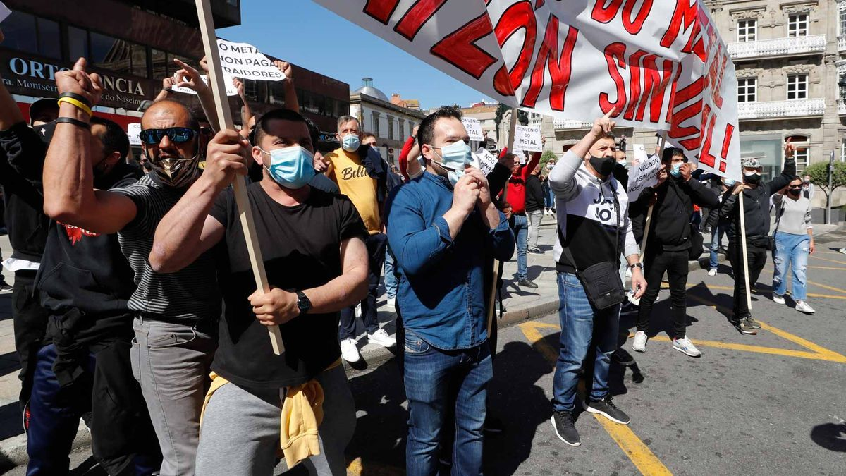 Así fue la manifestación del Primero de Mayo en Vigo