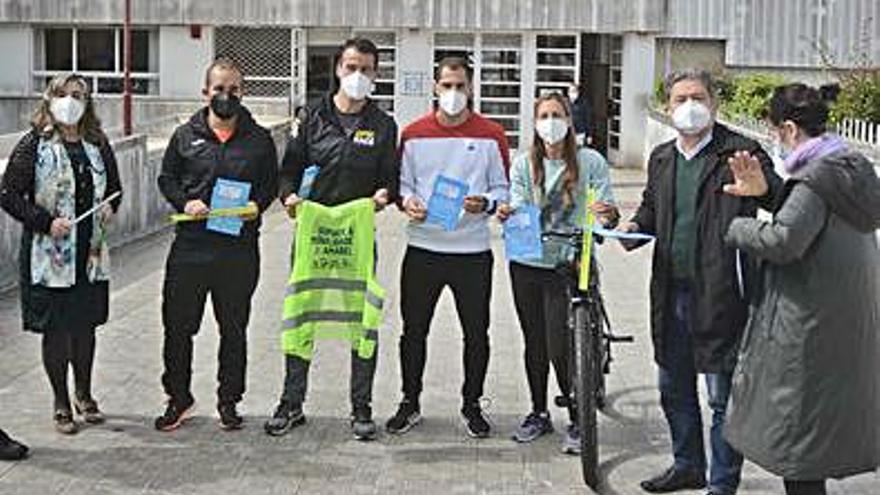 El Sánchez Cantón ofrece prácticas para circular en bicicleta