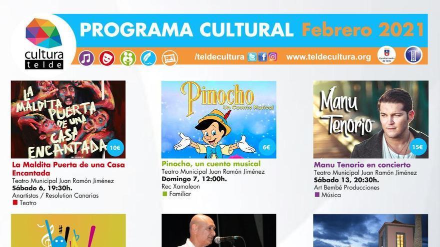 Telde centra su oferta cultural de febrero en la música y el teatro