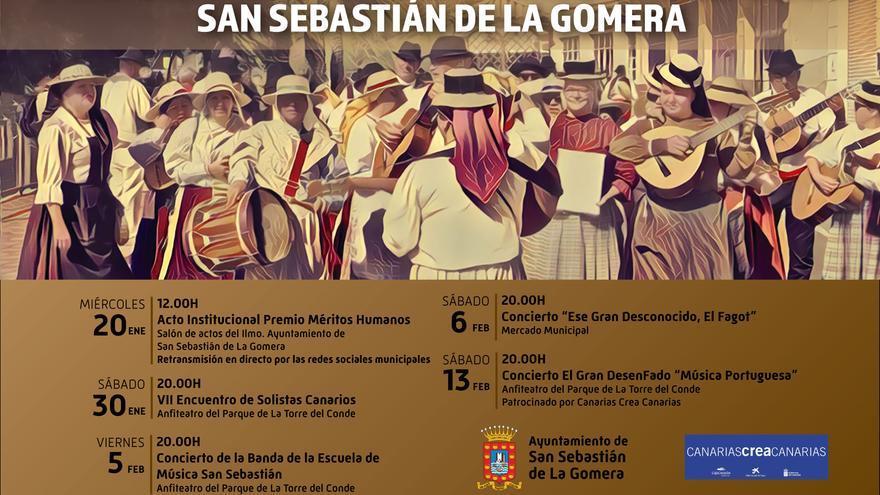 San Sebastián de La Gomera entrega los Premios Méritos Humanos