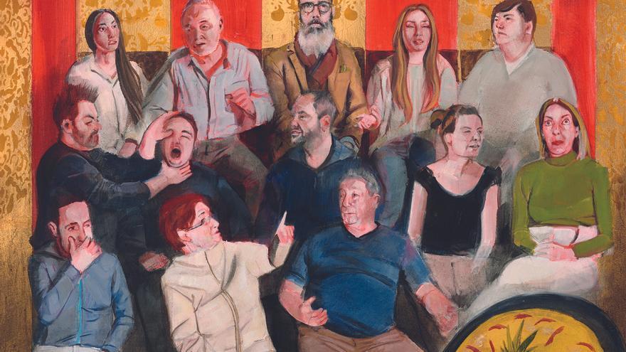 Una revisión de los murales de las Corts por artistas contemporáneos