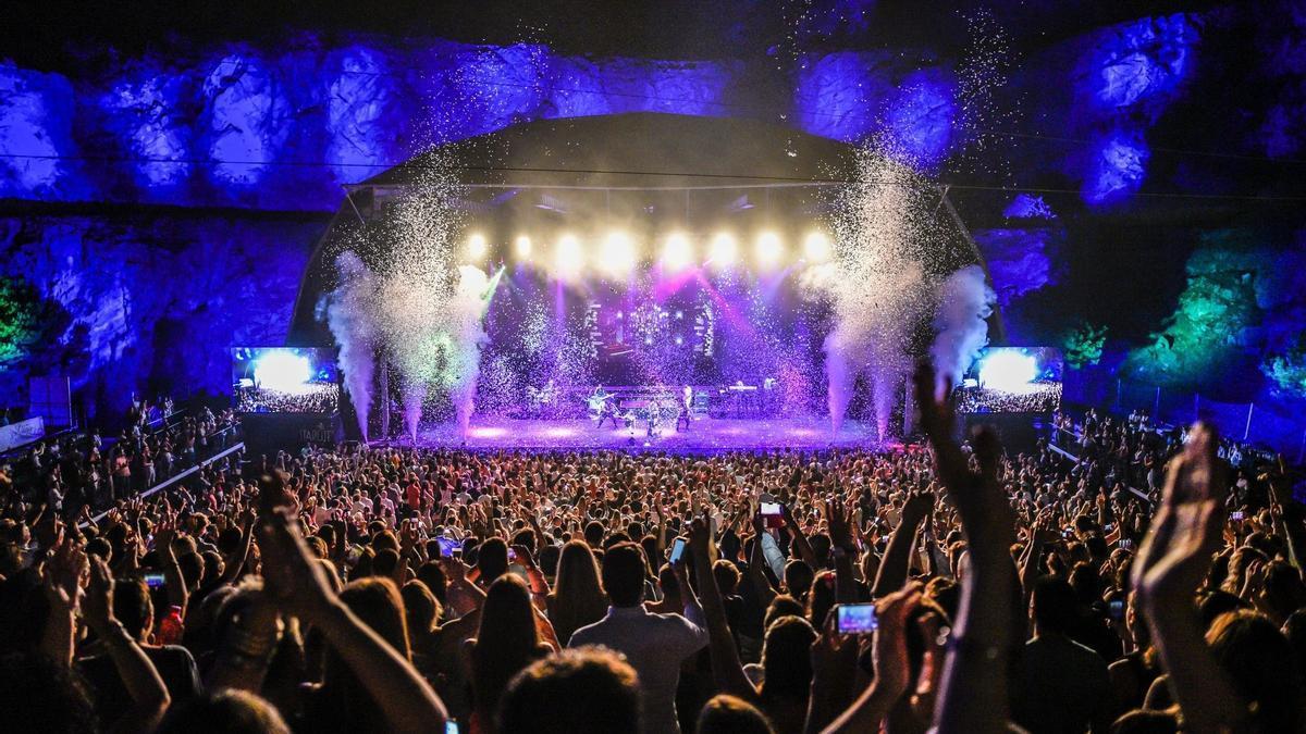 Un concierto en el Starlite Festival