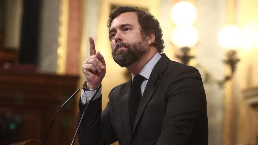 """Vox dice que la inacción del Gobierno ante Filomena es """"una buena noticia"""""""
