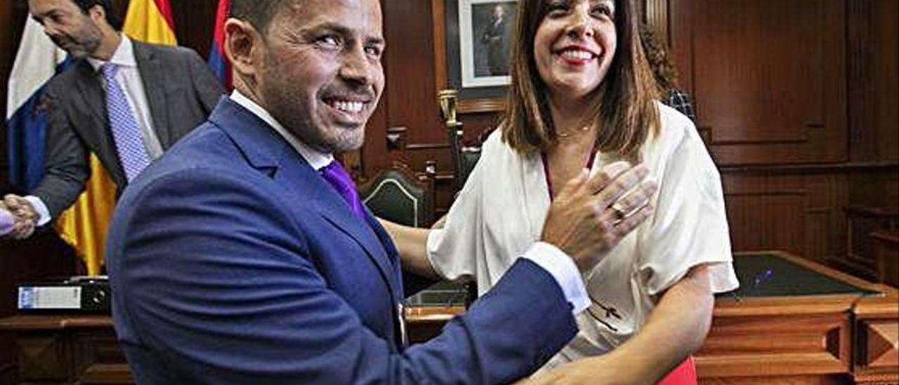 Héctor Suárez y Carmen Hernández.