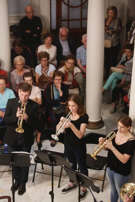Actuación de la Joven Orquesta de la Unión Europea en Avilés