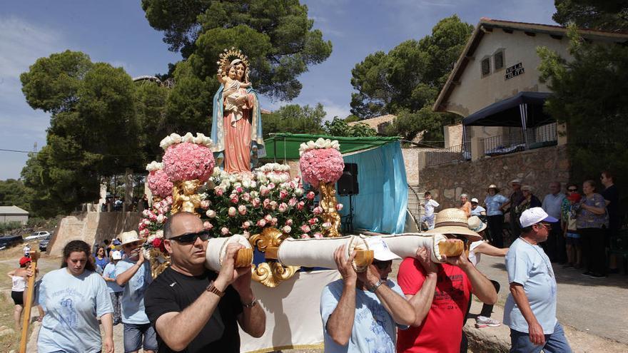 Barinas celebra en el monte la romería de la Virgen del Rosario