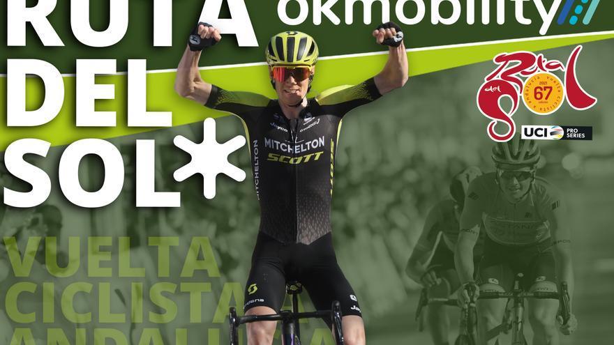 OK Mobility pedalea con los ciclistas de la Vuelta a Andalucía 2021