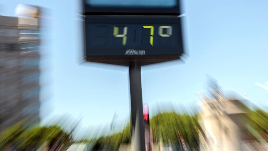 Alerta histórica por calor extremo en Valencia