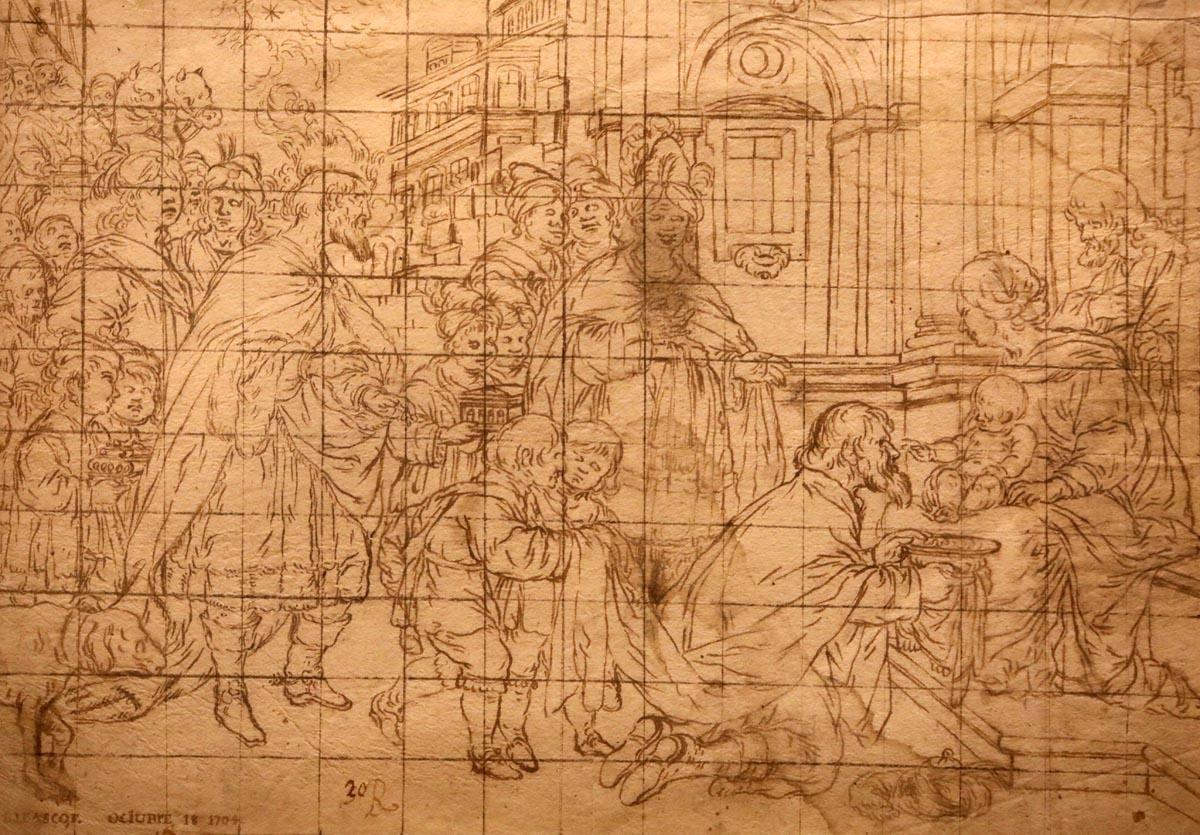 Dibujos de Antonio García Reinoso en el Museo de Bellas Artes