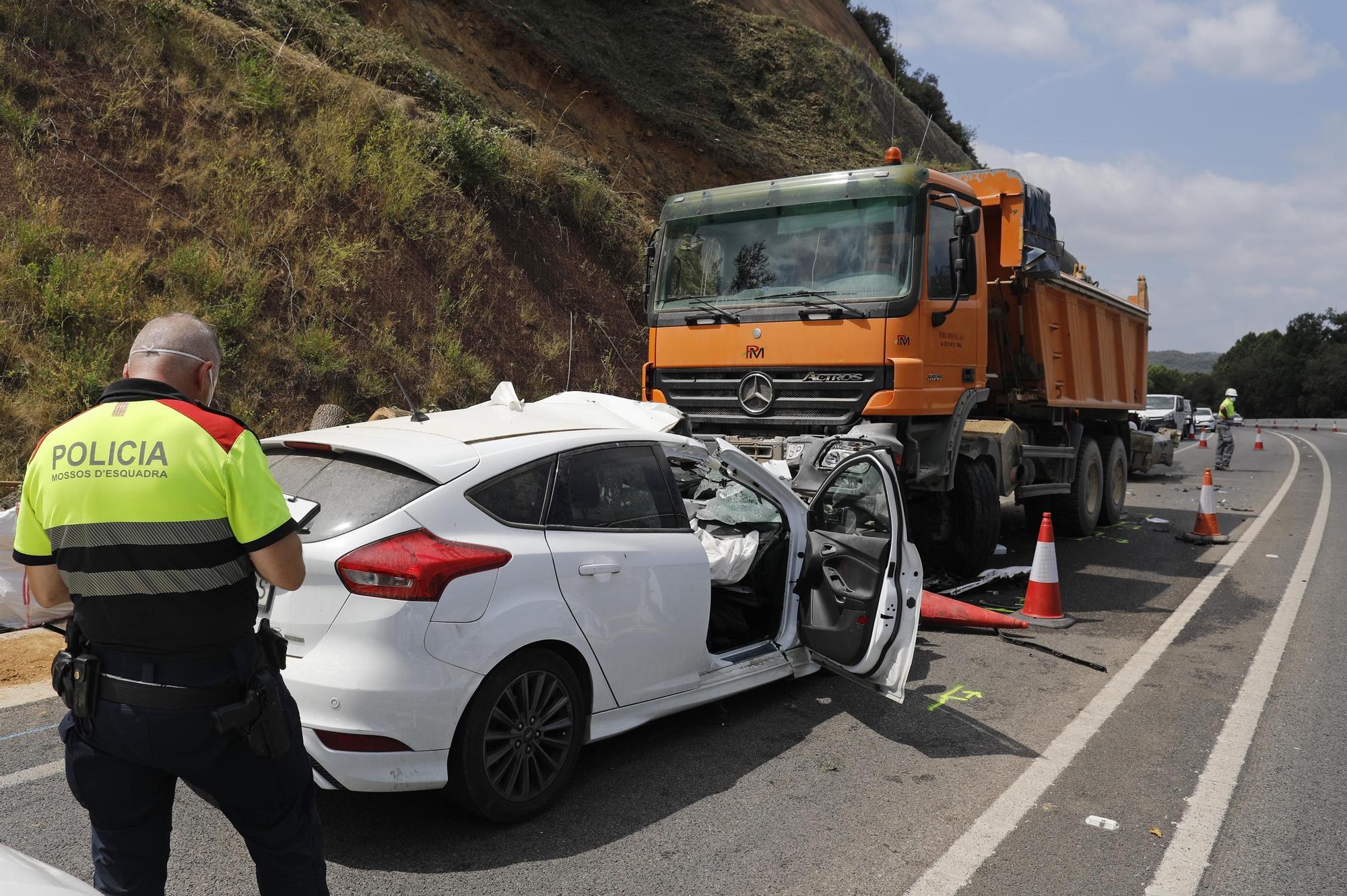 Accident mortal a Bescanó
