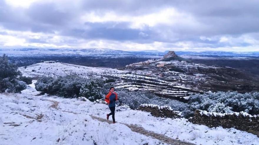 València y Castelló inician la semana en alerta naranja por frío, viento y heladas