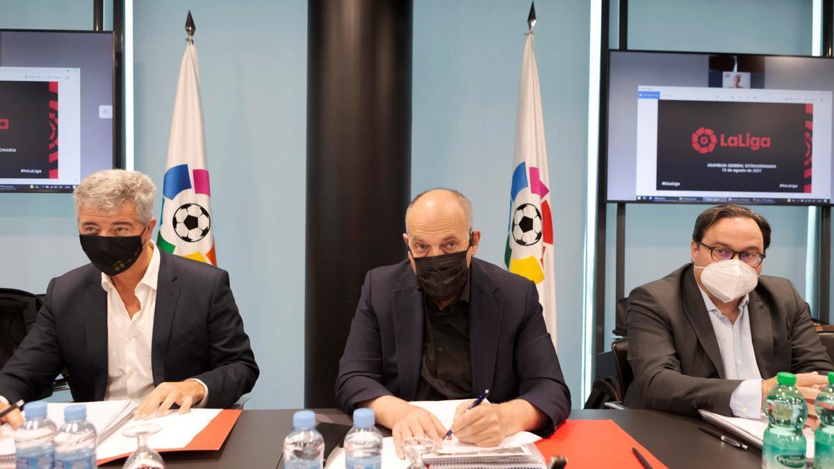 Aprobada 'LaLiga Impulso' y el acuerdo con CVC sin Real Madrid ni Barcelona.