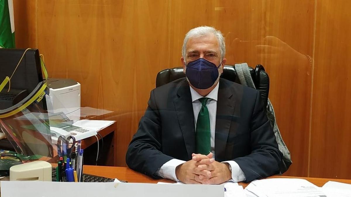 El juez decano de Málaga, José María Páez