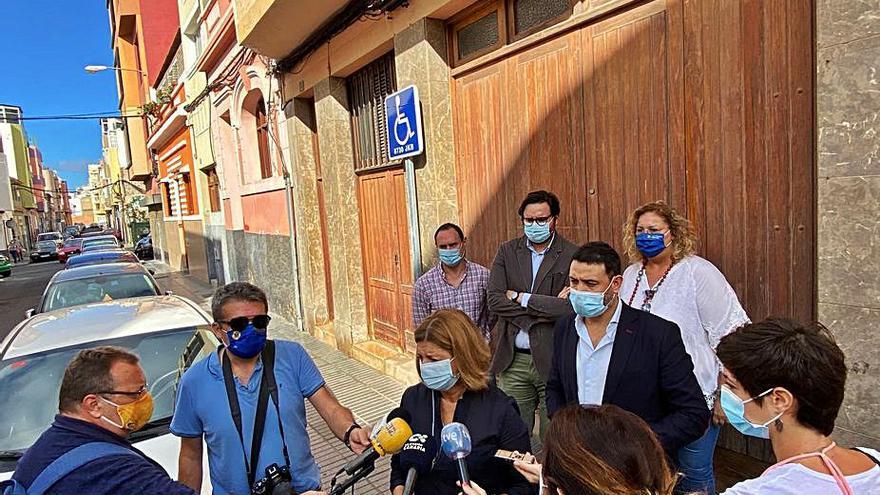 Luzardo solicita a Hidalgo acabar con las ocupaciones ilegales en la ciudad