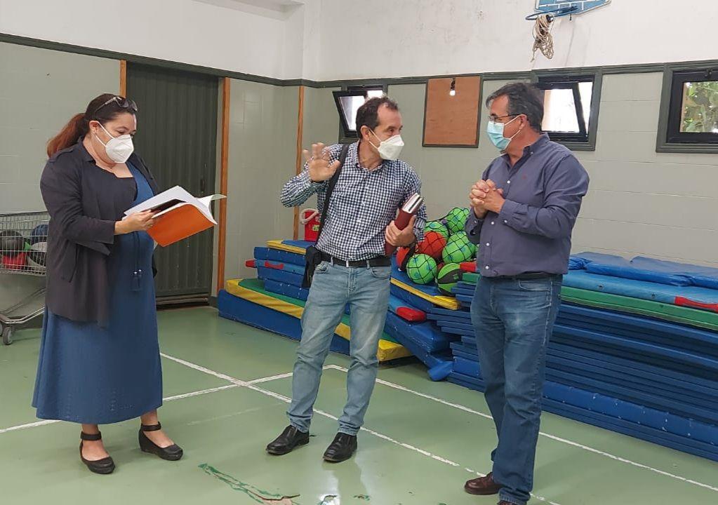 Mejoras en el colegio Poeta Francisco Tarajano, en La Herradura