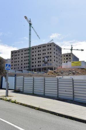 Promoción de viviendas en los alrededores del Hospital Dr. Negrín