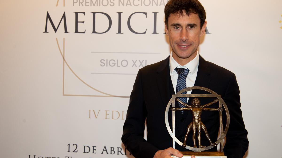 El Doctor Alberto Vericat recogió el Premio Nacional de Medicina S.XXI en el hotel The Westin Palace de Madrid.