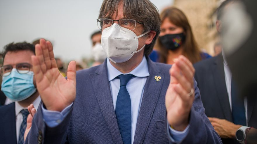 """Puigdemont: """"Mi objetivo es volver a Cataluña como hombre libre"""""""