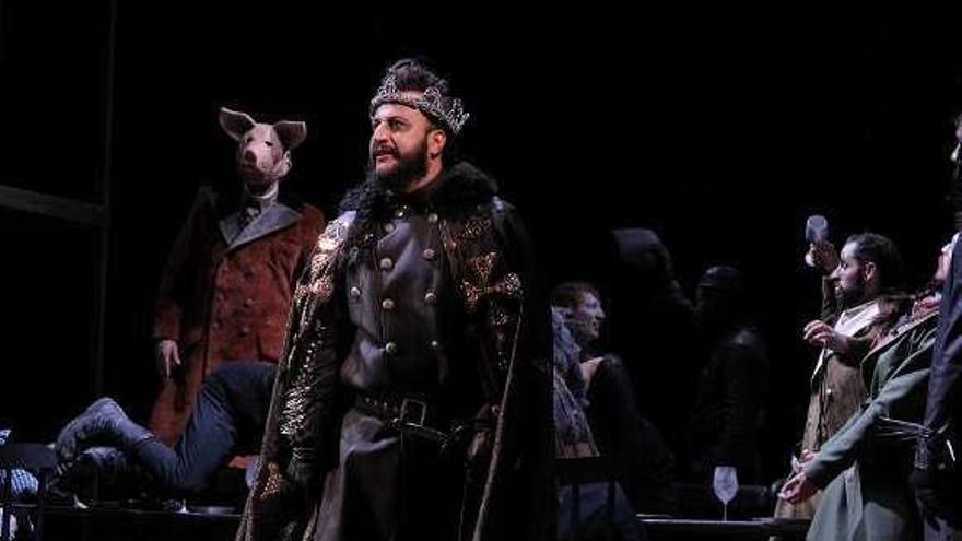 Un Macbeth punk para la noche del lunes