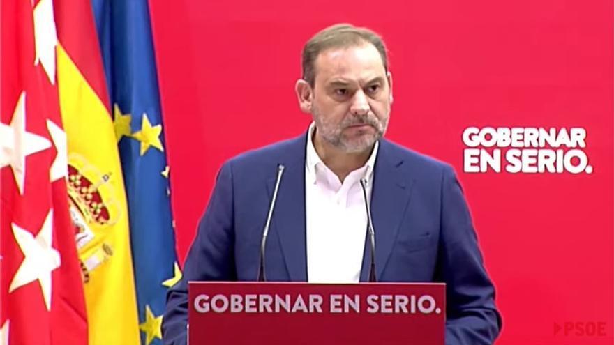 """Ábalos asegura que el PP y VOX ya son """"indisociables"""" y que es votar lo mismo"""