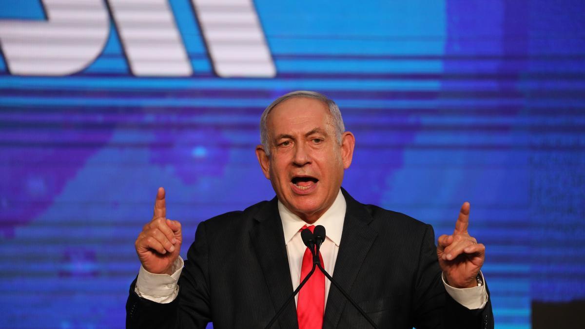 El israelí Benjamín Netanyahu.