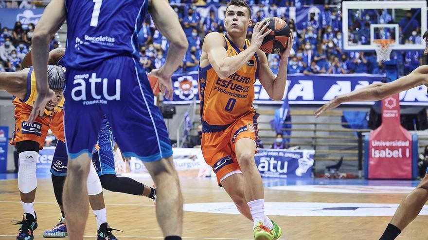 Labeyrie se multiplica para ganar en Burgos