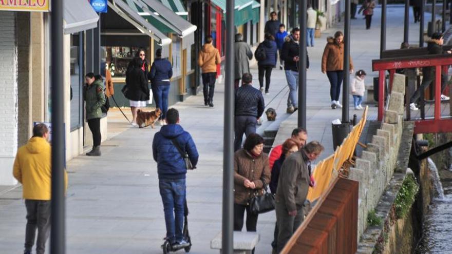 Ola de indignación en las redes contra los patinetes eléctricos en Vilagarcía