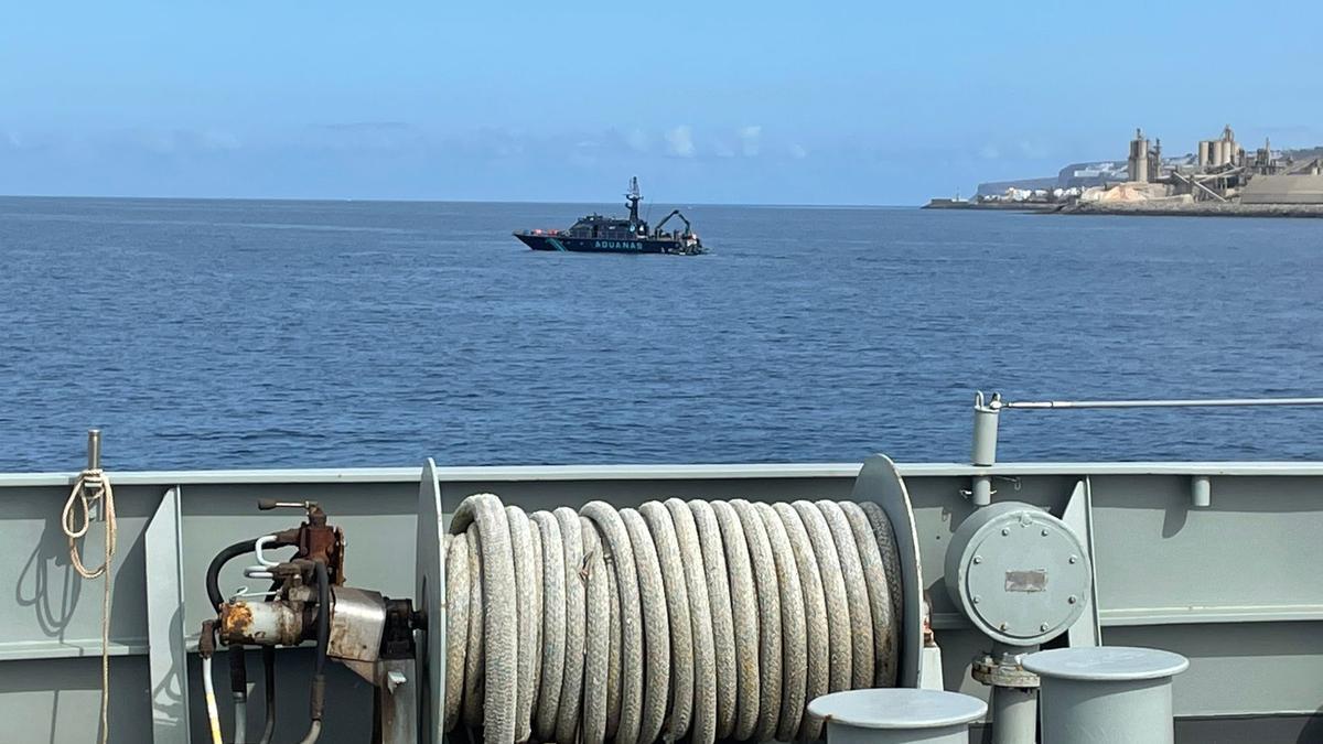 Ejercicios militares de la Armada en Pasito Blanco