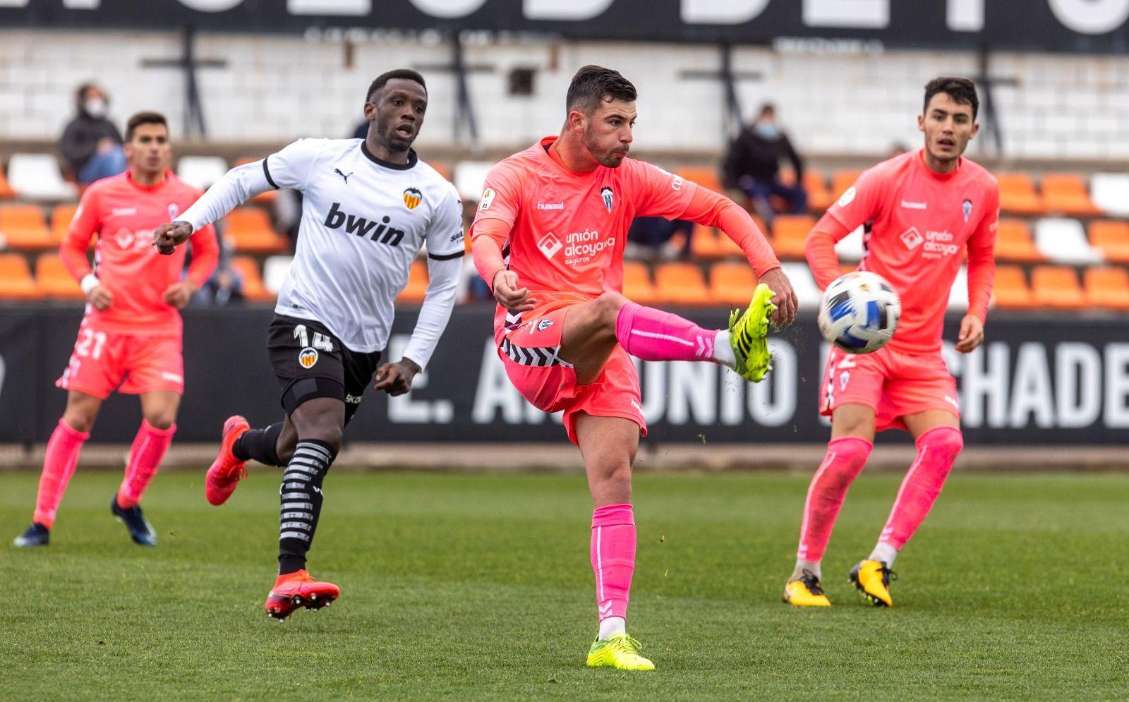 Mestalla-Alcoyano: Perfect week for Alcoyano