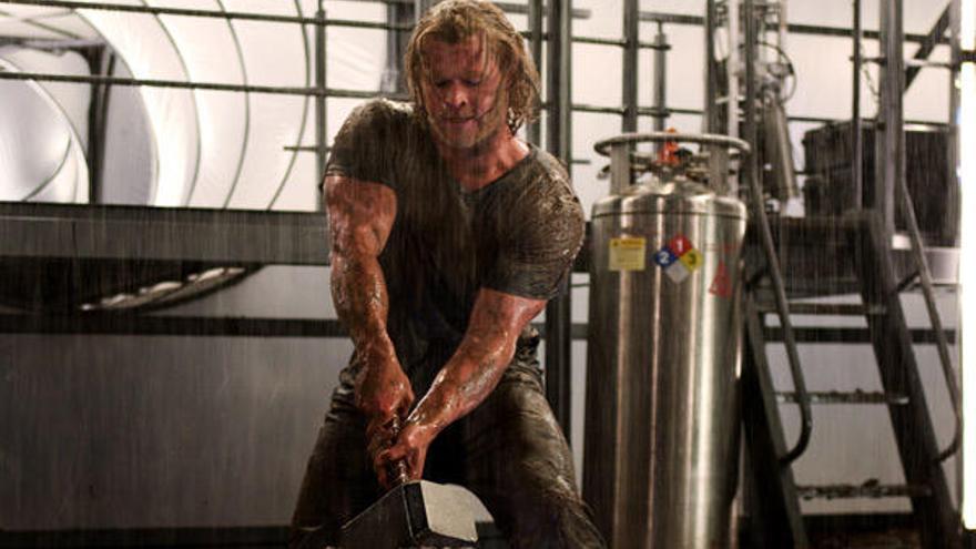 Estos son los ejercicios que hace Chris Hemsworth para meterse en la piel de Thor
