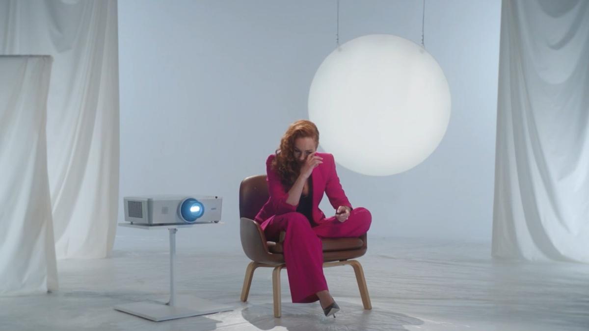 Una imagen de Rocío Carrasco durante la emisión del documental.