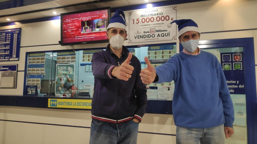 Gijón se lleva parte del segundo quinto premio de la Lotería de Navidad y reparte 60.000 euros