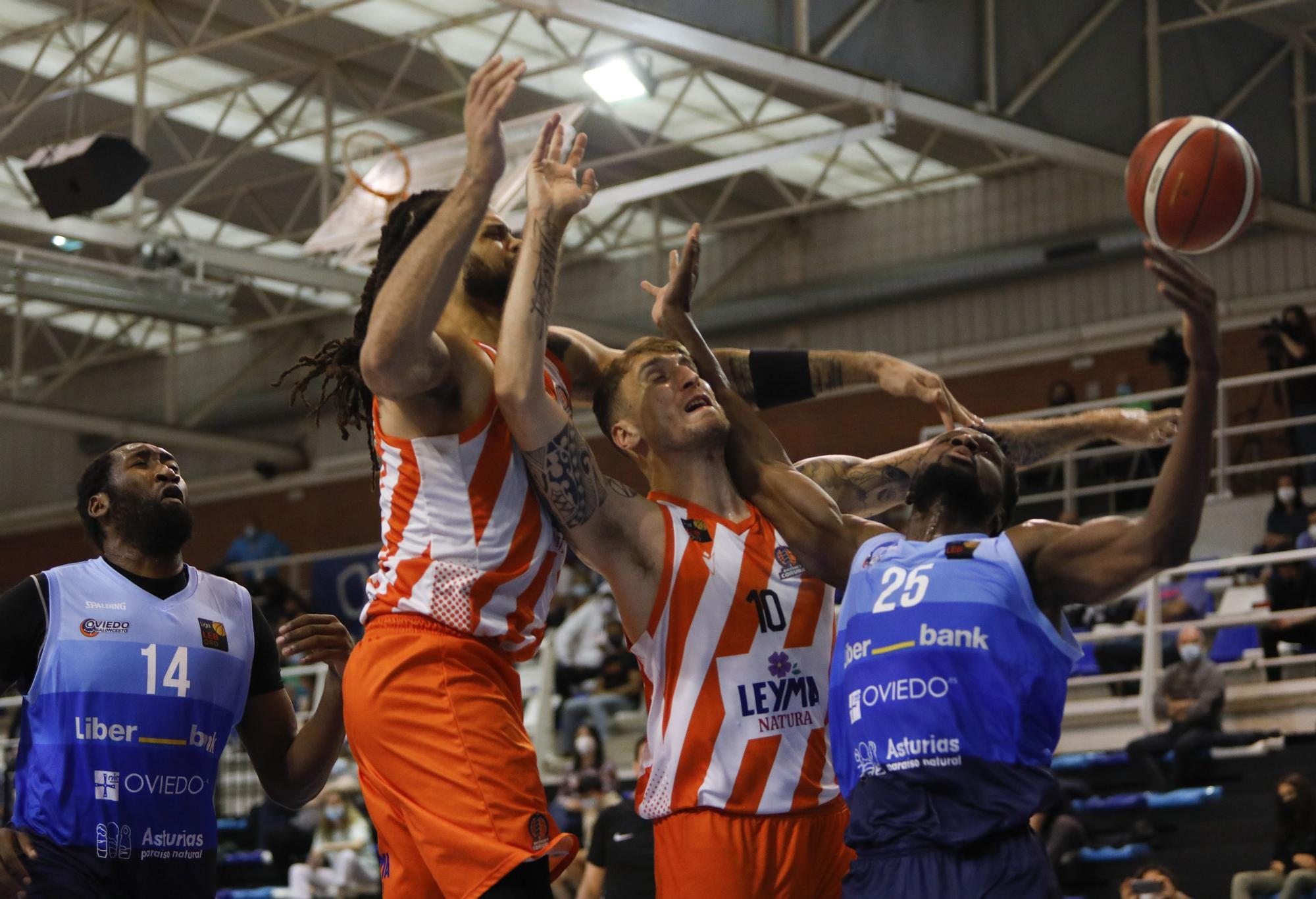 El Leyma asalta Pumarín y sigue soñando ACB