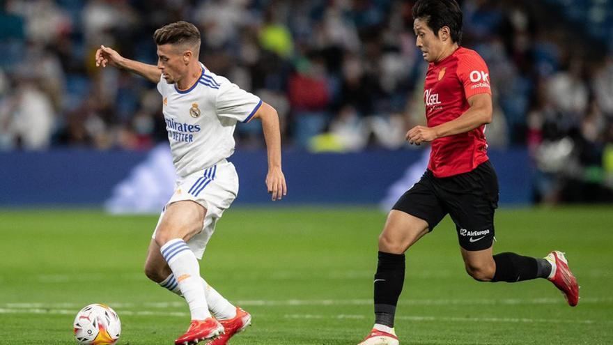 Antonio Blanco y su lugar perfecto: debut con el Madrid en el Bernabéu