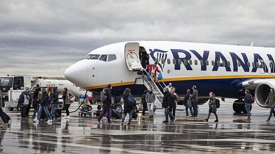 Quatre destinacions «cauen» de la programació de Ryanair d'aquest estiu