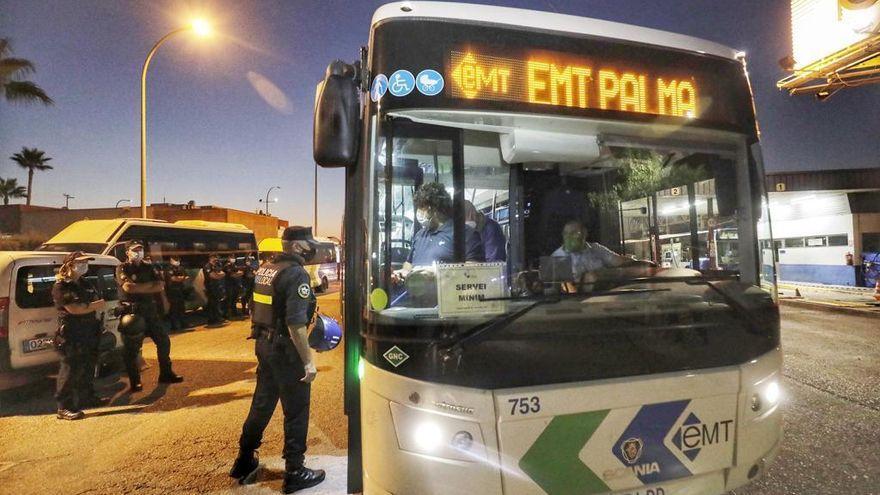 Comienza la huelga de la EMT con un 100% de seguimiento de la protesta